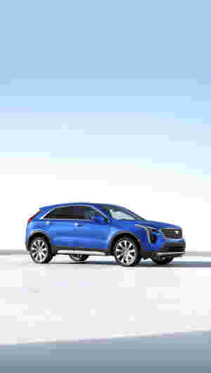 Xt4 premium luxury side trim
