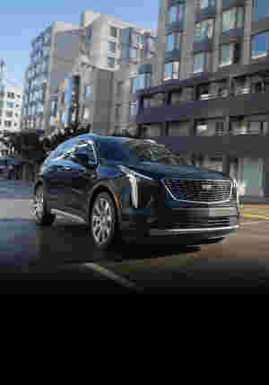 XT4 Driver Modes Exterior vehicle in motion